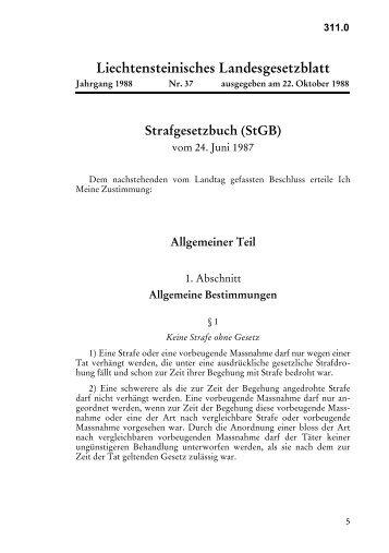 Liechtensteinisches Landesgesetzblatt - Legislationline