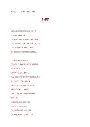 Buch 2 - 1.1.1998 - 31.12.1998 STRAHLEND WEISSES LICHT ...