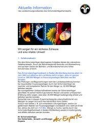 Aktuelle Information - Der Schornsteinfeger