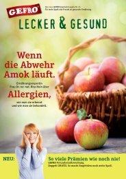 GEFRO Journal Lecker & Gesund