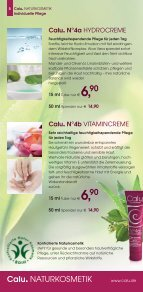 Calu. NATURKOSMETIK Katalog April 2013 - Seite 5