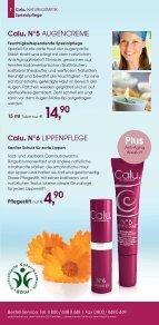 Calu. NATURKOSMETIK Katalog April 2013 - Seite 7