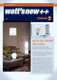 Whatts_New 13.indd - Osram