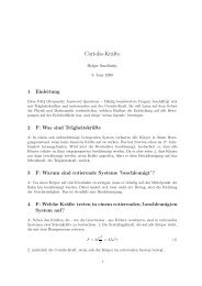 Coriolis-Kräfte - GSI - Theory