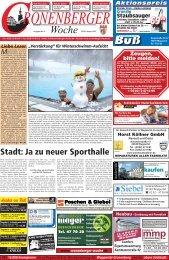 Stadt: Ja zu neuer Sporthalle - Cronenberger Woche