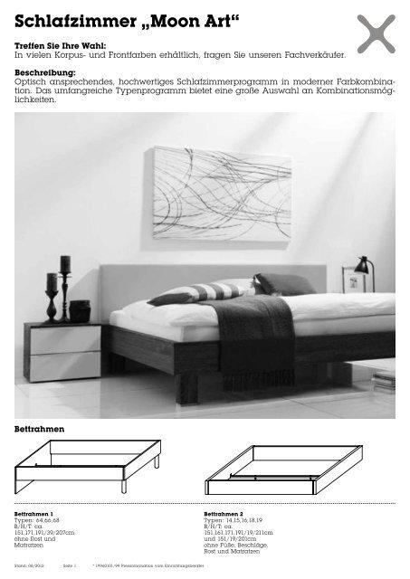 "Schlafzimmer ""Moon Art"""