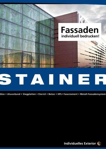 Membran-Fassade - Stainer Schriften und Siebdruck GmbH und Co ...