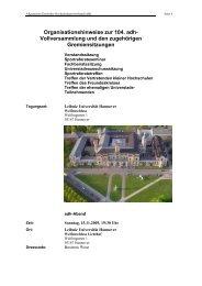 Organisationshinweise zur 104. adh - Allgemeiner Deutscher ...