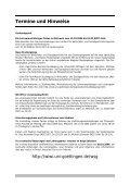 Termine und Hinweise - Page 2