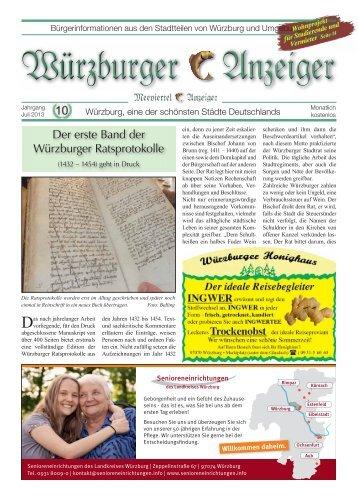 Der erste Band der Würzburger Ratsprotokolle - Meeviertel-Anzeiger
