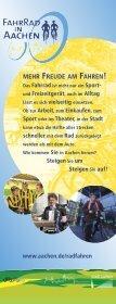 MEHR FREUDE AM FAHREN! - Stadt Aachen - Seite 2