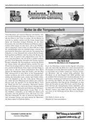 Reise in die Vergangenheit - Gemeinde Losheim am See