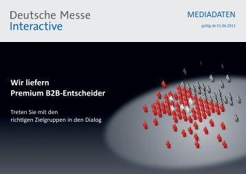 Erfahren Sie mehr - Deutsche Messe Interactive