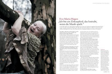 "Interview mit GALORE - 2006"" (pdf) - Eva-Maria Hagen"