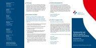 Patientenrechte und ethische Aspekte im Rahmen Ihrer Behandlung