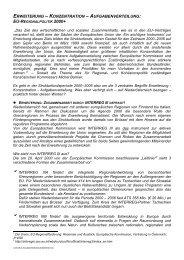 erweiterung – konzentration – aufgabenverteilung - Raumordnung ...