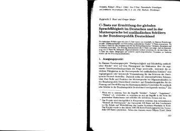 Rupprecht S. Baur, Gregor Meder - C-Test.de