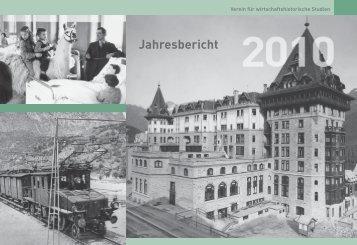 Jahresbericht 2010 - pioniere - der verein