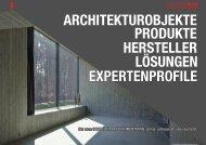 architekturobjekte produkte expertenprofile lösungen hersteller