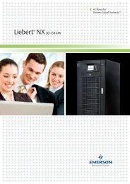Liebert NX-Broschüre - Emerson Network Power