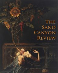 The Sand Canyon Review 2012 - Crafton Hills College