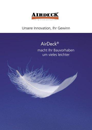 Airdeck Broschüre