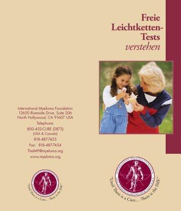 verstehen - International Myeloma Foundation