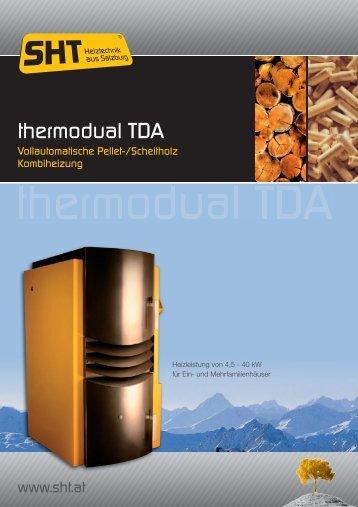Broschüre Thermodual TDA SHT - Briner AG Winterthur