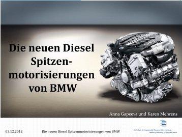 Die neuen Diesel Spitzenmotorisierungen von BMW