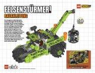 Oh je, die gigantische Mobile Bohrstation wurde bei einem ... - Lego