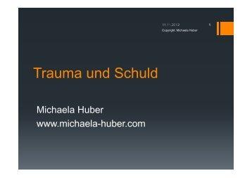 Trauma und Schuld - Michaela Huber
