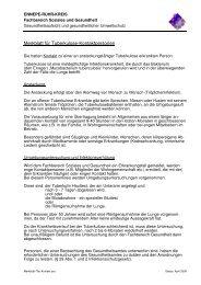 Merkblatt für Tuberkulose-Kontaktpersonen - Ennepe-Ruhr-Kreis