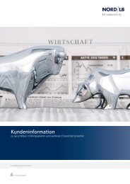 Kundeninformation zum Wertpapiergeschäft (358 KB)