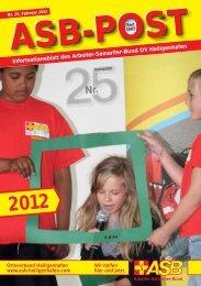 Titelbild ? 25. Ausgabe hervorheben ??? - ASB Heiligenhafen