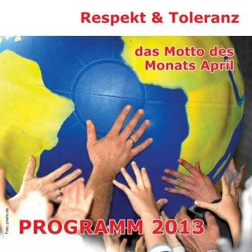 Monat für Respekt und Toleranz (567 KB) - Stadt Wels