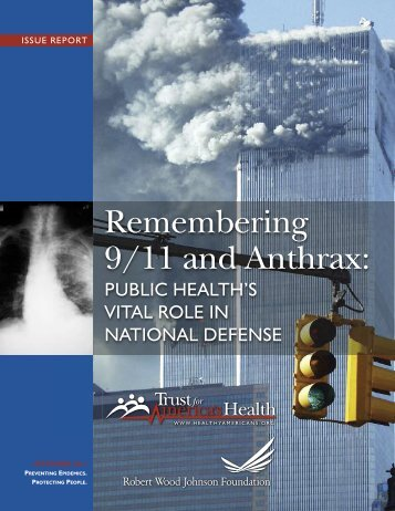 Remembering 9/11 and Anthrax: - Trust for America's Health