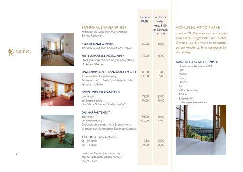 Preise 2012 - Hotel Bayerischer Hof GmbH