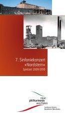 7. Sinfoniekonzert »Nordstern« - Neue Philharmonie Westfalen