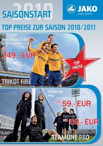 top preise zur saison 2010/2011