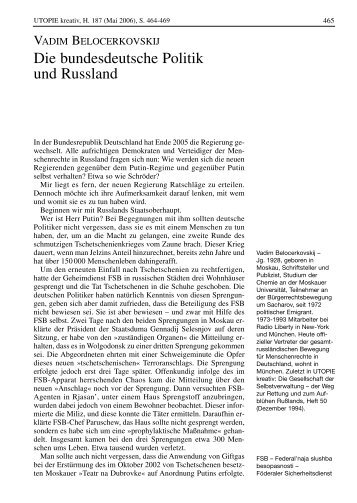 UTOPIE 187-D - Rosa-Luxemburg-Stiftung