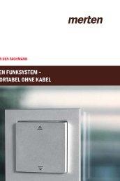 MERTEN FUNKSYSTEM – KOMFORTABEL OHNE KABEL - Elbro AG