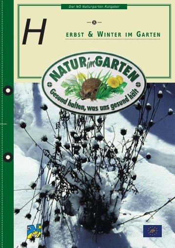08 Herbst und Winter im Garten - Natur im Garten