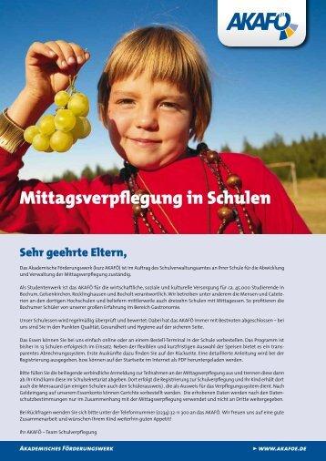 Mittagsverpflegung in Schulen - schulmensa.net