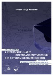 Abstractband zum Symposium 2011 Download - an der Potsdam ...
