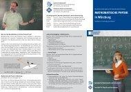 Flyer - Fakultät für Physik und Astronomie - Universität Würzburg