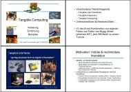 Tangible Computing