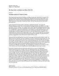 Zug der Erinnerung Mainz 9.-12. März 2009 Die Deportation von ...