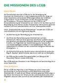 Die LCGB-Charta und die Missionen des LCGB - Seite 4