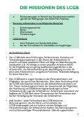 Die LCGB-Charta und die Missionen des LCGB - Seite 7