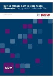 Device Management - Bosch Software Innovations